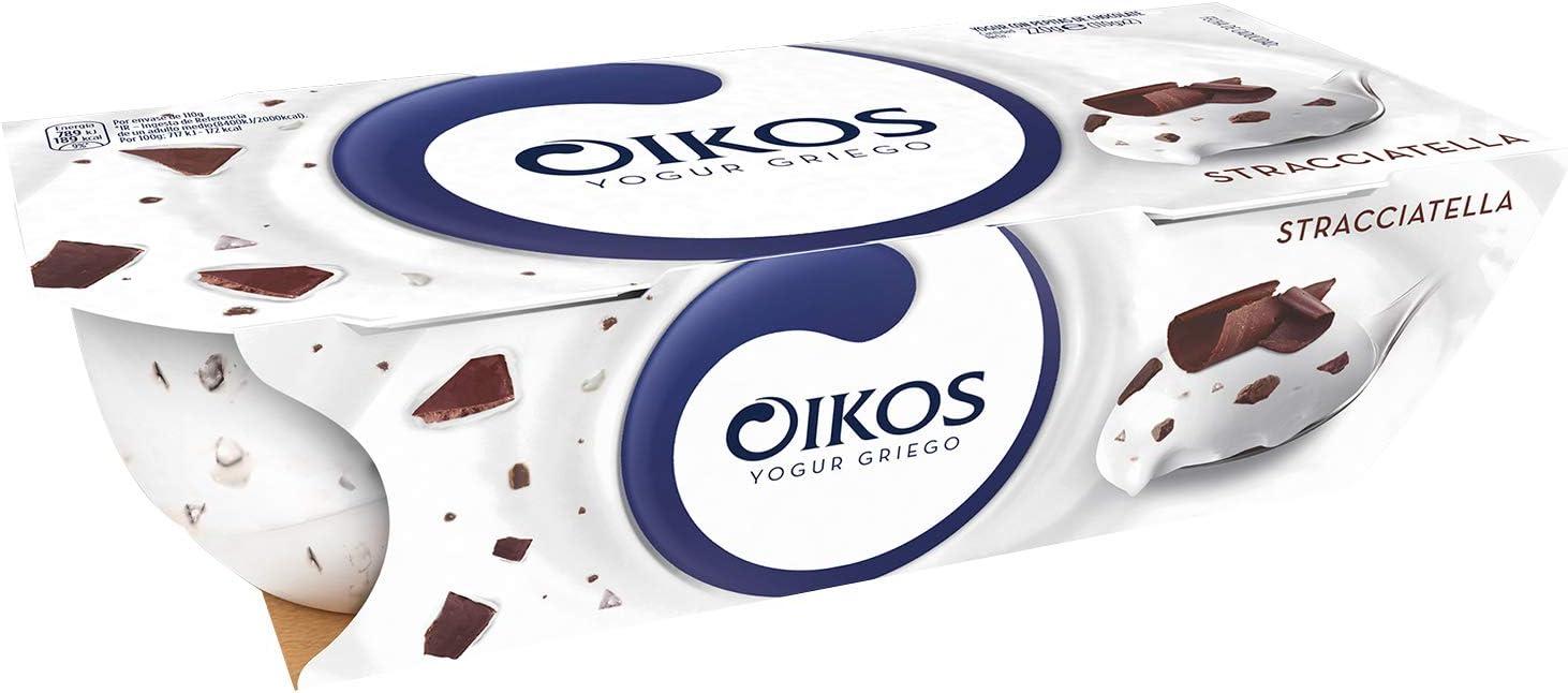 Oikos - Yogur Griego Danone Stracciatella Pack 2 x 115 g ...