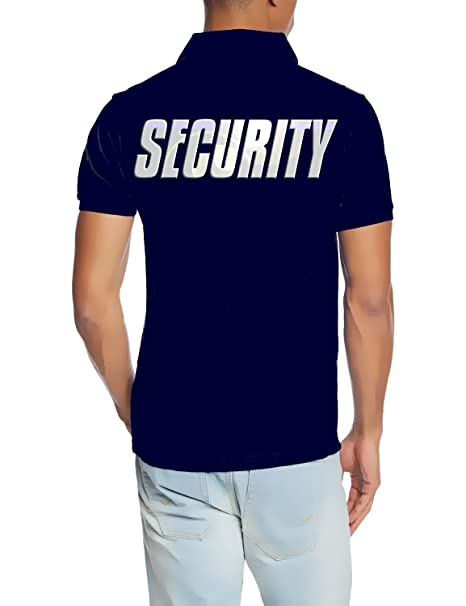 Coole-Fun-T-Shirts Security - Polo Pantalla Reflectante S M L XL ...