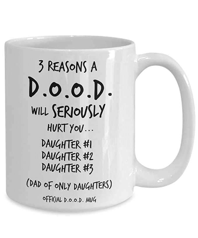 Amazon Dad Gifts From Daughter Mug Funny Quotes for Daughters