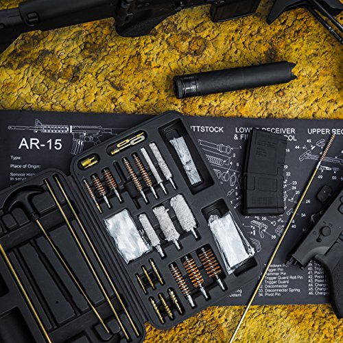 Universal Gun Cleaning Kit for all Guns - Includes Resistant