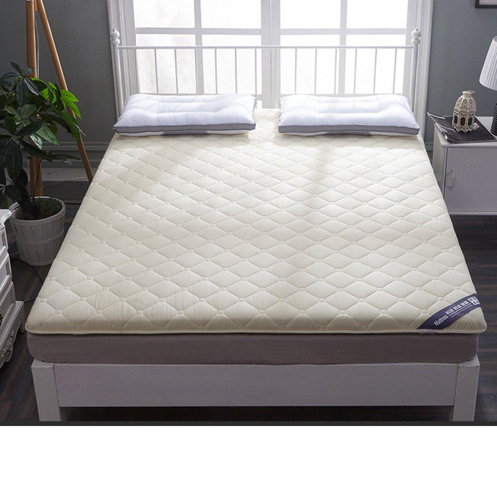 HYXL [cotton] Antibacterial Thicken Floor Mattress,Sponge [individual] [pad] [double] Tatami mats Floor mats For [dorm room]-C 90x200cm(35x79inch)