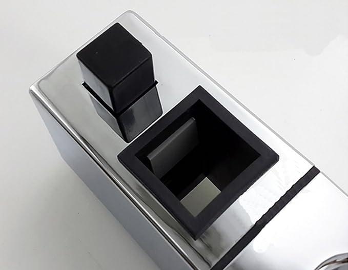 FREAHAP R Support de Douche ABS R/églable Main de Remplacement Support de Curseur Chrom/ée pour Salle de Bain 18mm