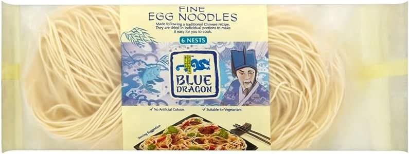 Blue Dragon Fine Egg Noodles (300g) - Pack of 6