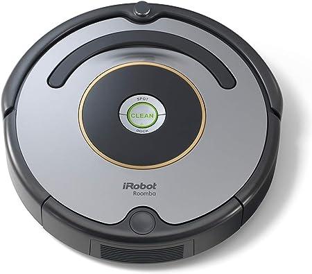 iRobot Roomba 615 - Robot aspirador para suelos duros y alfombras, con tecnología Dirt Detect, sistema de limpieza en 3 fases, 34 x 34 x 9,2 cm,: Amazon.es: Hogar