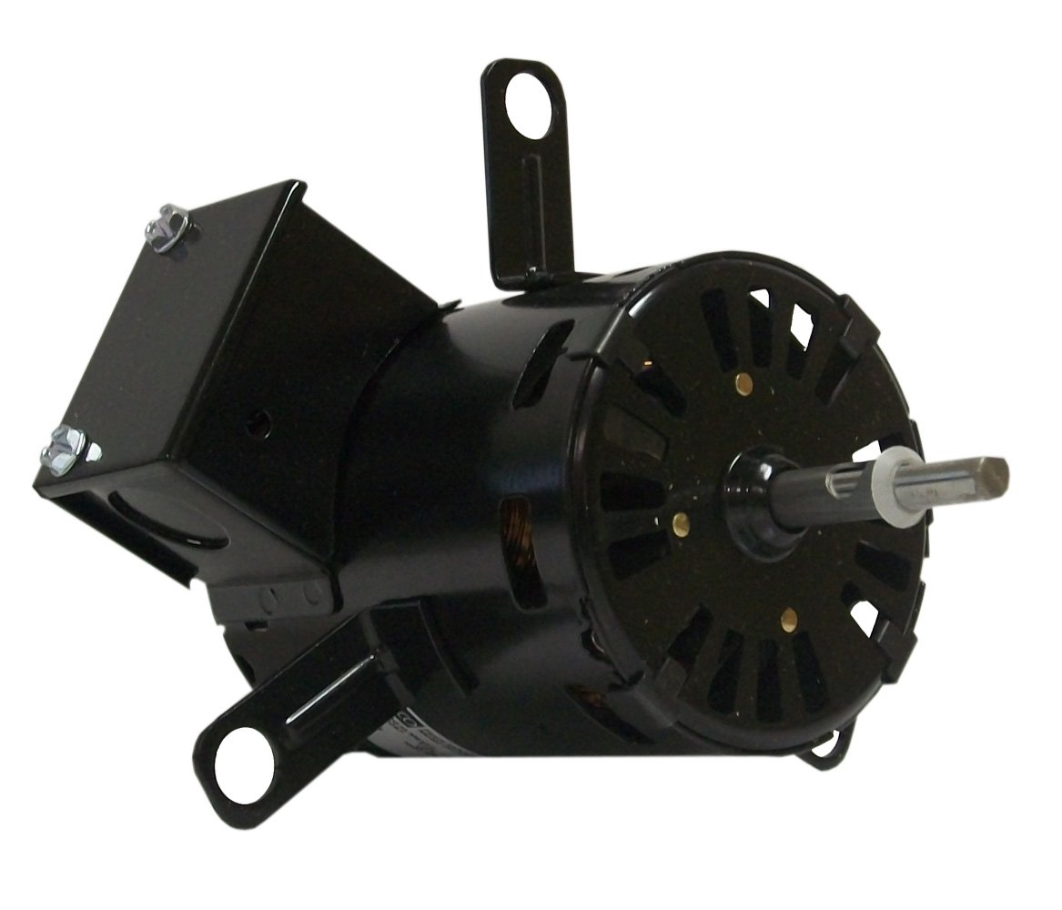 Fasco D1161 3.3-Inch Diameter Shaded Pole Motor, 1/15-1/25 HP, 115 Volts, 1500 RPM, 1 Speed, 2.9-1.9 Amps, CCW Rotation, Sleeve Bearing