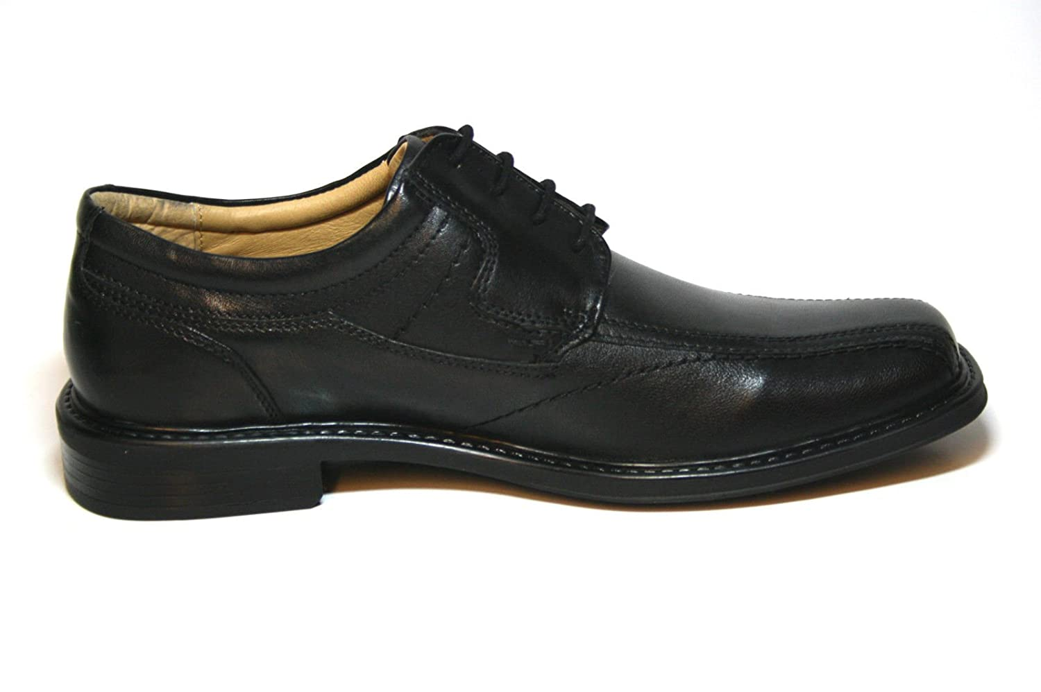 Ambre Mens Elmer Lace Xtra Wide Shoe Black UlWHZ