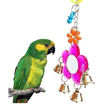 Wimagic - Soporte para Espejo de pájaros, diseño de Jaula de ...