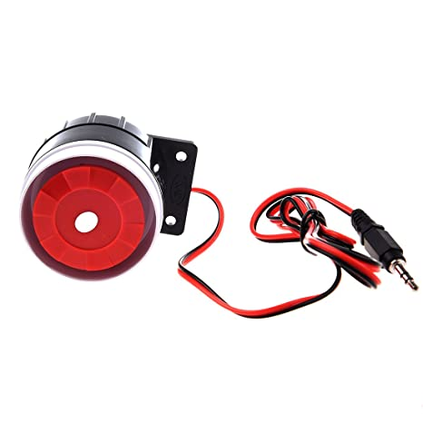110dB 12V Super Laut Alarm Horn Alarmsirene Alarm-Sirene Alarmanlage DE
