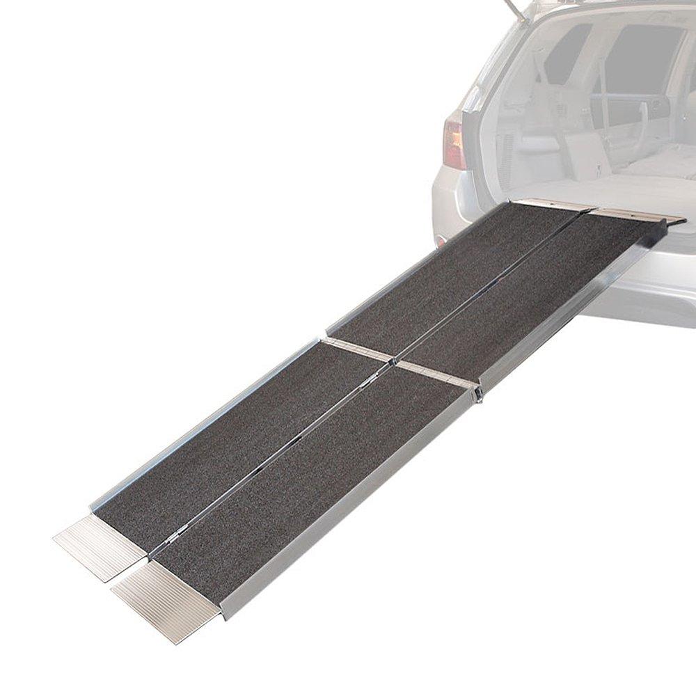 6' Triple Folding Wheelchair Loading Ramp