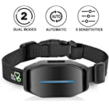 Dog Bark Collar - Anti Barking Collar with Intelligent Bark Control, Effective Sound, Vibration & Automatic 7 Levels Shock Modes Training Collar w/LED indicator, Easy to Use No Barking Collar