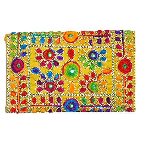 Clutch by Traditional Bag Handmade artists Indian T6Sv4qU8Ow