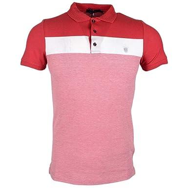 883 Police Knight Polo Shirt | Red: Amazon.es: Ropa y accesorios