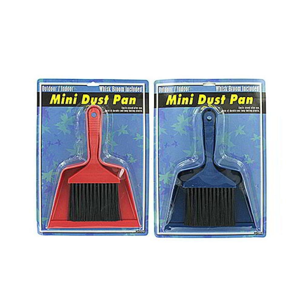 48 Mini brush and dust pan set