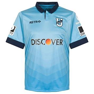 2015 Universidad católica (Ecuador) camiseta, hombre, color Azul - azul celeste,