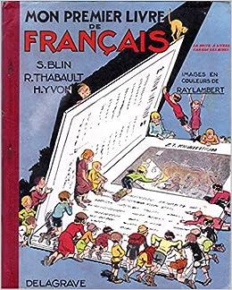 Amazon Fr Mon Premier Livre De Francais Livres