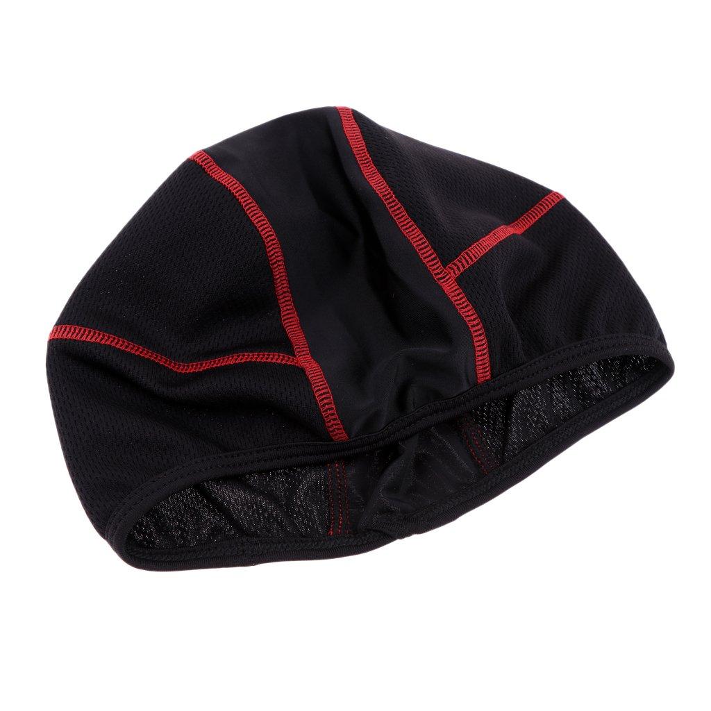Sharplace Bonnet Chapeau de Crâne Cap pour Vélo Moto Ski