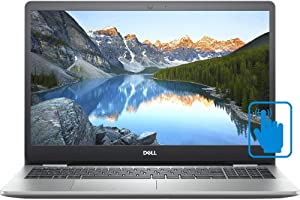 """Dell Inspiron 15 5000 Touchscreen Laptop - 15.6"""" LED-Backlit FHD (1920 x 1080), Intel Core i7-1065G7 , 8GB Memory, 512gb SSD, Backlit Keyboard - Silver - i5593-7988SLV-PUS Windos 10 Home"""