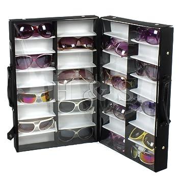 Ordinaire Hu0026S 32 Pairs Sunglasses Glasses Retail Shop Display Storage Unit Stand Case  Box Tray
