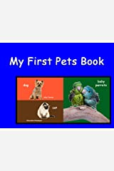 My First Pets Book HD (Baby Animals 3) Kindle Edition