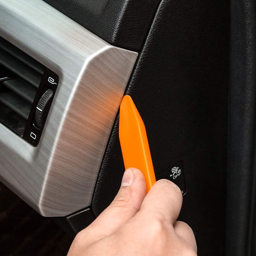 2 Set//8Pcs Mila-Amaz Auto Trim Removal Tool Set Plastic Pry Tool for Dashboard Removal Door Panel Audio Refit