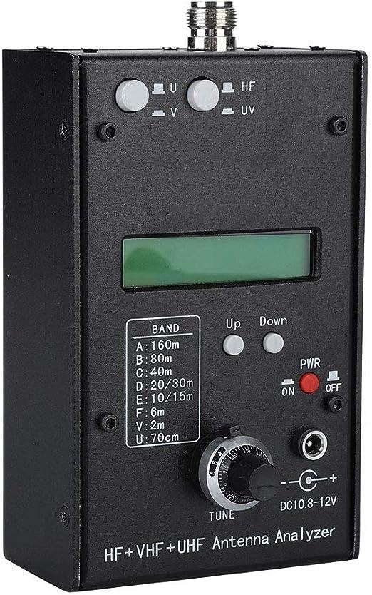 Analizador de Antena, HF + VHF + UHF Analizador de Antena ...