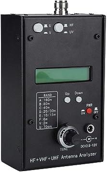 Analizador de Antena, HF + VHF + UHF Analizador de Antena SWR ...