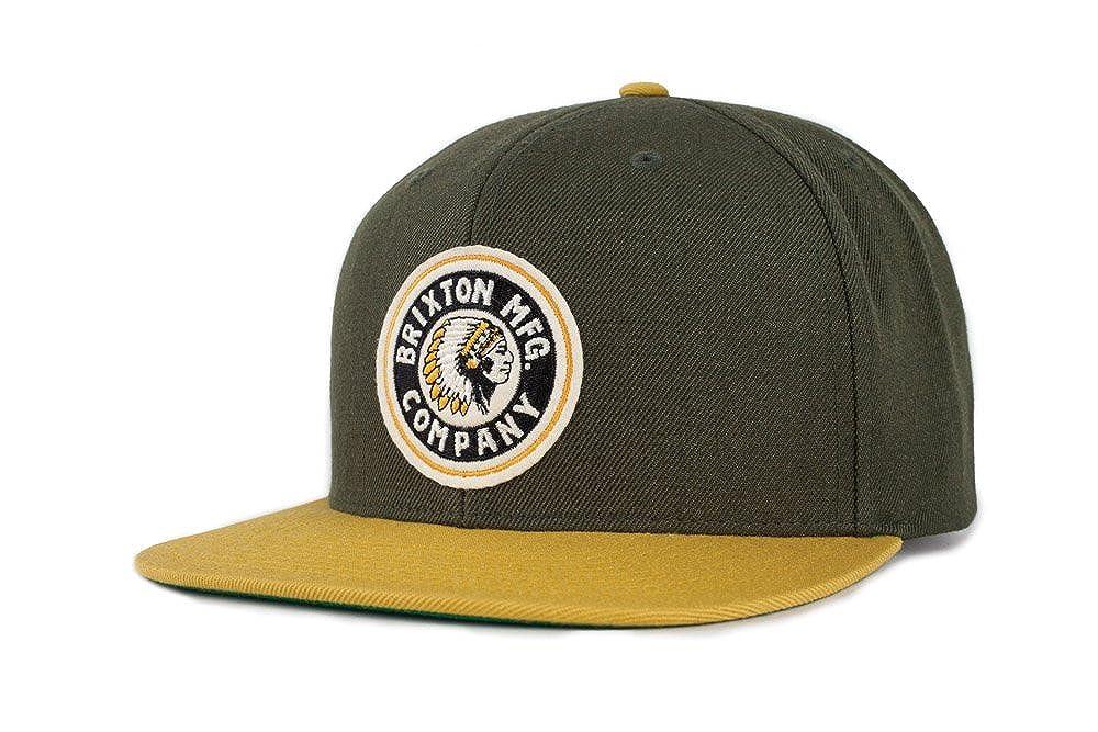 Brixton Men's Rival Medium Profile Adjustable Snapback Hat black One Size Brixton Young Men' s 00267