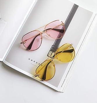 BHLTG Gafas de Sol Hombres y Mujeres Tide Personalidad Moda ...