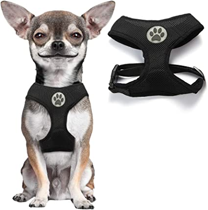 PUPPIA DOG OR PUPPY SOFT AIR MESH HARNESS A SMALL MEDIUM  LARGE FAST POST