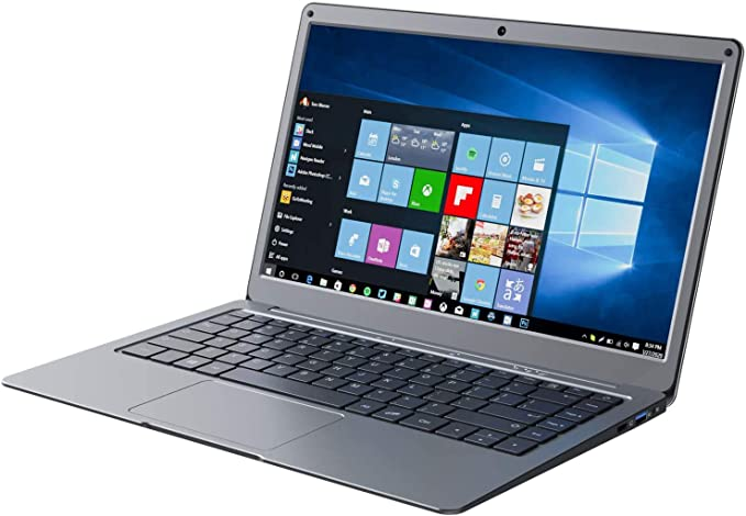 Jumper Laptop 13.3 inch 8GB RAM 128GB ROM Quad Core Celeron, Windows 10 Thin and Light Laptop, Full HD 1080P Display, Support 128GB TF Cardand 1TB SSD Expansion   Amazon