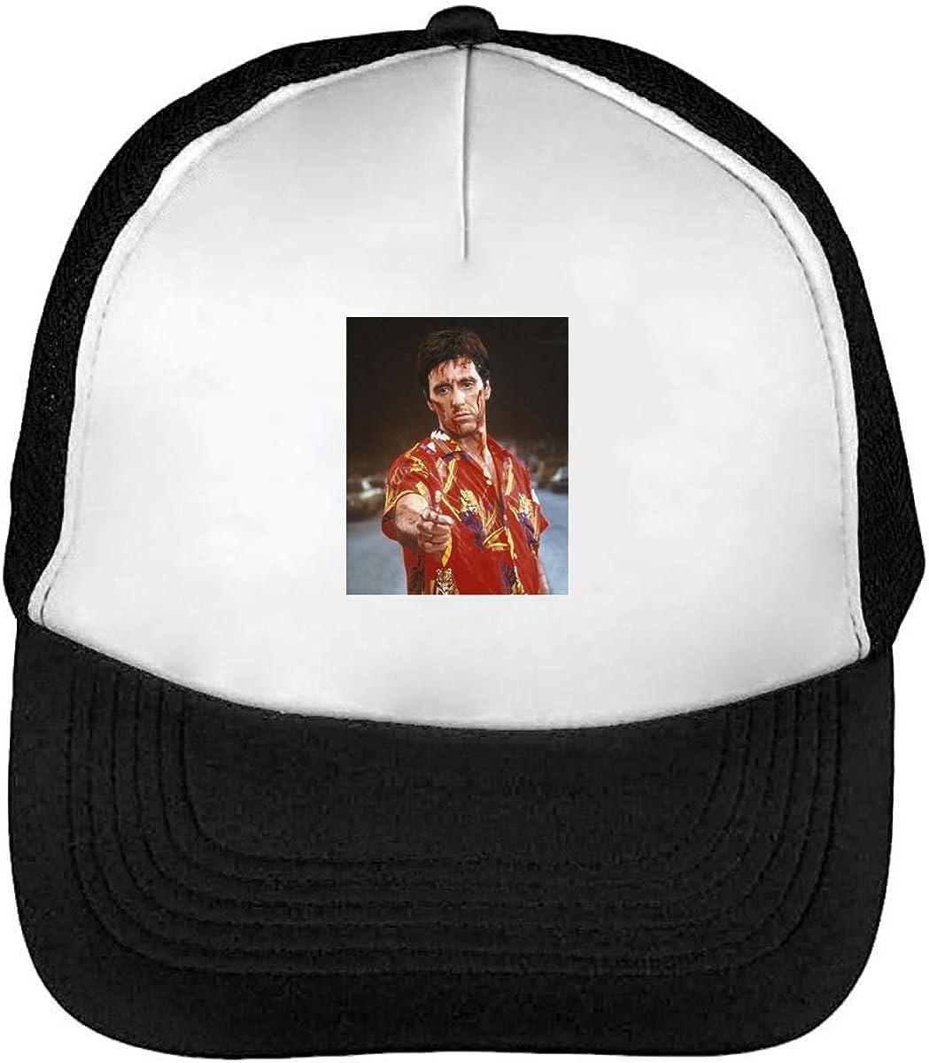 Tony Montana Artwork Gorra de Béisbol Camionero Unisex: Amazon.es ...