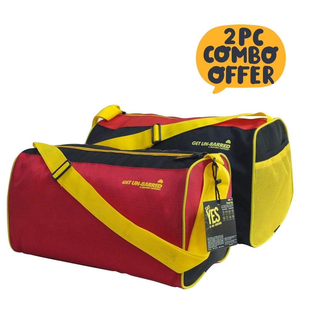 Mufubu Duffle Gym Bag 20 LTR Each