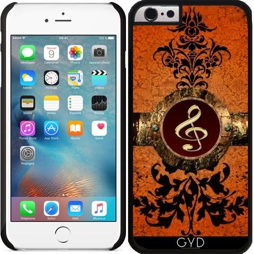 Coque pour Iphone 6 (4,7 '') - Miusic, golden clef by nicky2342