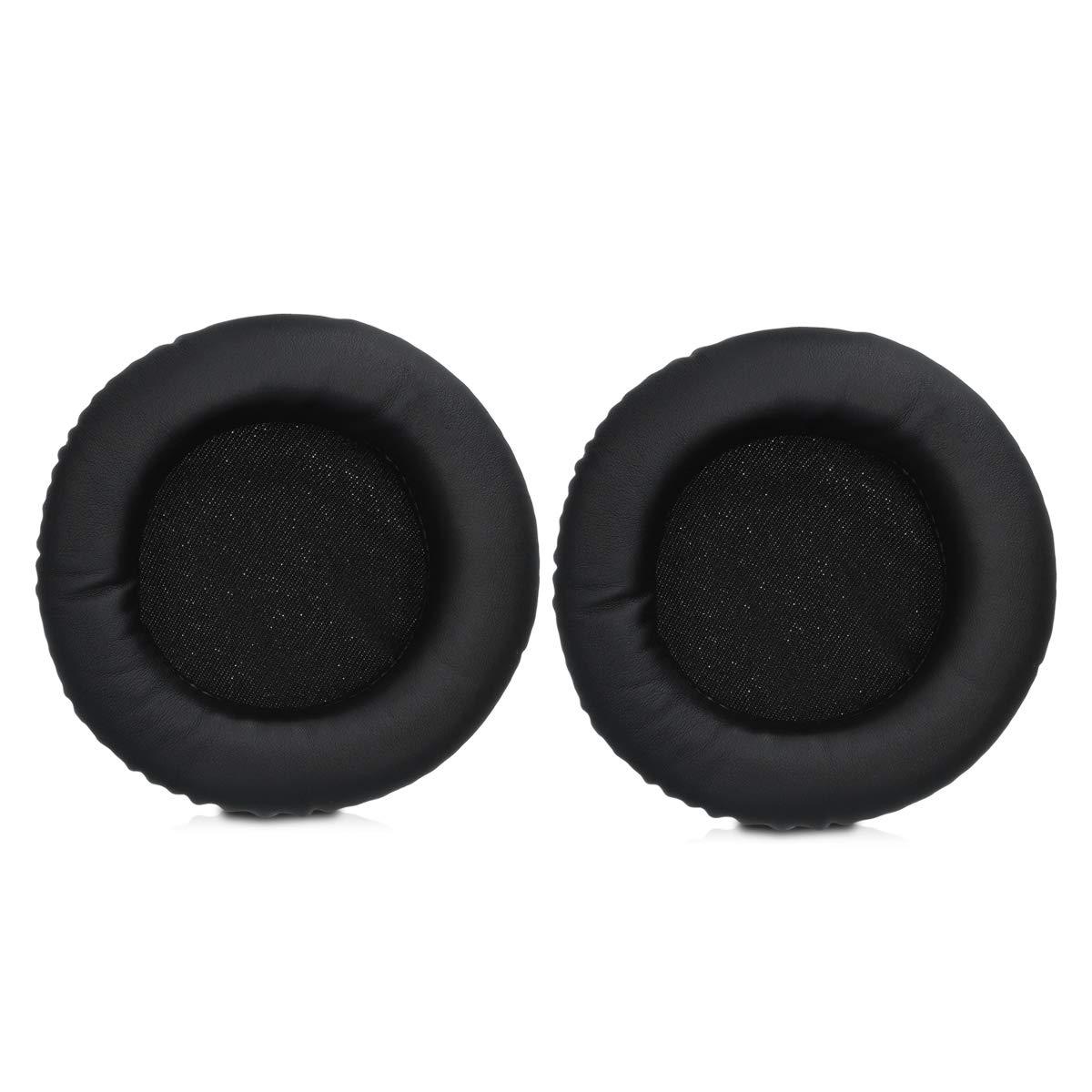 kwmobile 2X Almohadillas para Auriculares Beyerdynamic T70P//T90//DT770//DT880//DT990 Almohadilla de Repuesto de Cuero sint/ético para Cascos