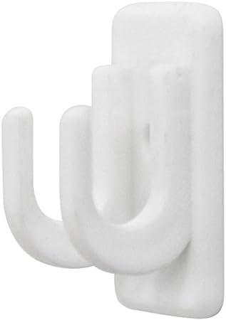 40-60cm Tringle Business extensible blanc diff/érentes tailles avec support de fixation de disque rideaux
