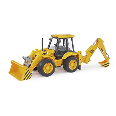 Bruder Toys 02428 JCB 4CX Loader Backhoe: Toys & Games