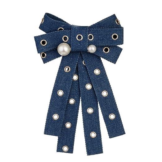 Aclth Corbata de Lazo del Bowknot de Las señoras Moda para Mujer ...