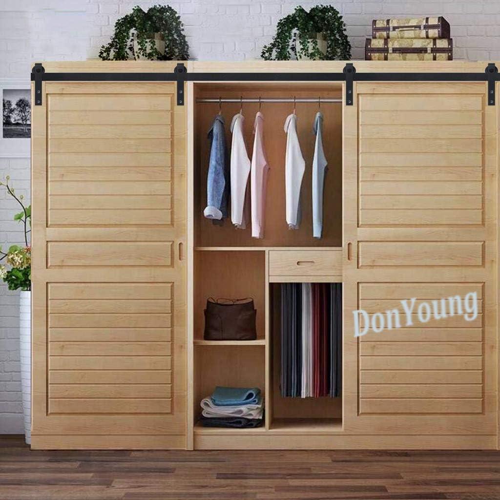 Millones de mini armario puerta corrediza de granero pista Kit de ...