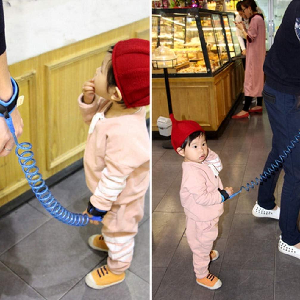 Pulsera Ni/ños Seguridad 1.5//2//2.5 M Enlace Ni/ño Correa De Seguridad Arn/és para Beb/é Correa Cuerda Al Aire Libre Caminar Correa De La Banda