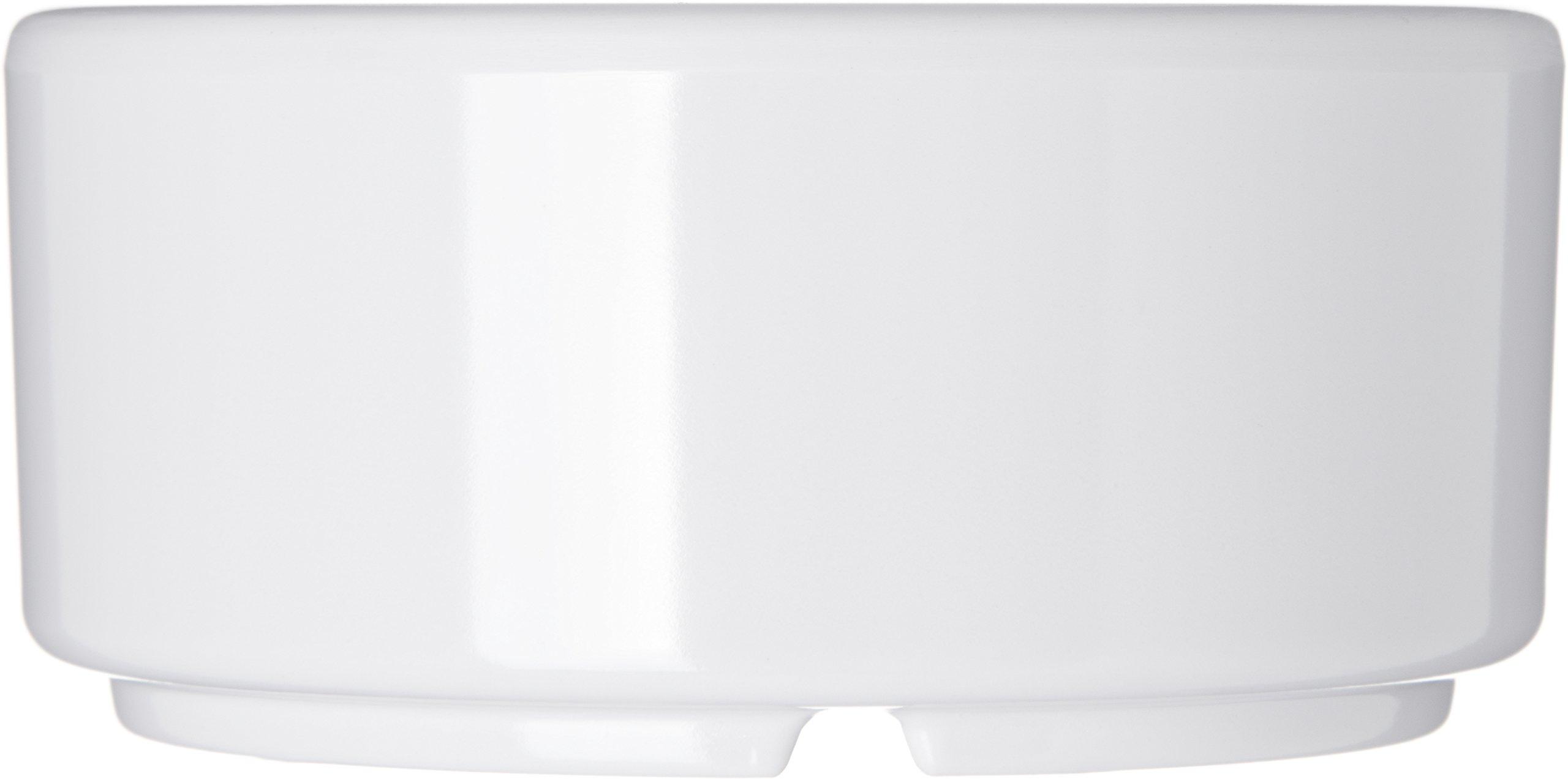 Carlisle 41402 White Melamine Straight-Sided Ramekin (Case of 48) by Carlisle (Image #4)
