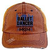She Calls Me Mom Hat, There's This Ballet Dancer Trucker Cap (Trucker Cap - Orange)