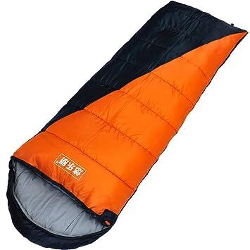 empalme doble saco/ bolsa de dormir camping al aire libre/ saco de dormir tipo sobre-A: Amazon.es: Deportes y aire libre