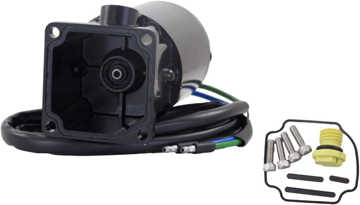 Rareelectrical New Tilt Trim Motor And Reservoir Compatible With Mercury/Mariner 6276 By Part Numbers 809885A1 819480A1 809885A2 809885T2 813447 819479A1 186777 885654T1 6276 PT496NK-2 18-6777