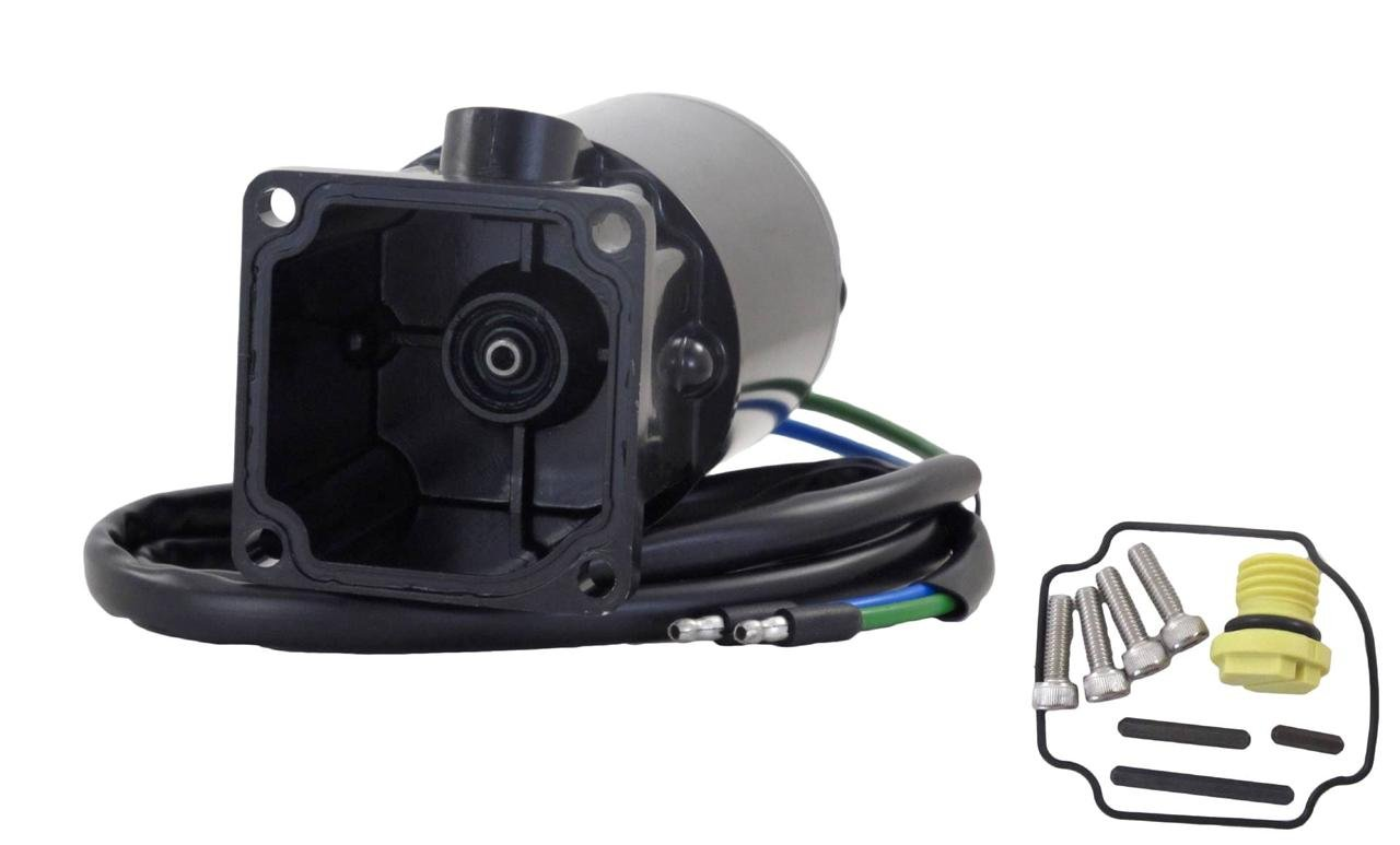NEW TILT TRIM MOTOR AND RESERVOIR FITS MERCURY/MARINER 6276 809885A1, 809885A2 by Rareelectrical
