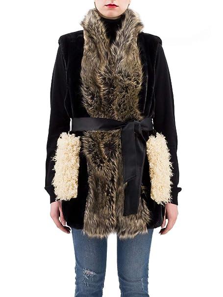 Pinko ACCENDINO GILET Donna Beige 40  Amazon.it  Abbigliamento 9c1fcf45dc0