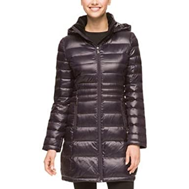 Amazon.com: Andrew Marc Ladies Long Down Jacket, Orchid,XL: Clothing