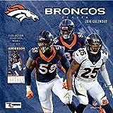 Denver Broncos Wall Calendar