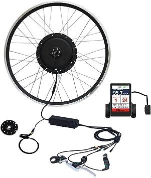 TZIPower Kit de conversión de Bicicleta eléctrica, Pantalla a ...