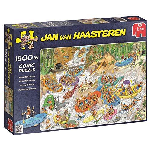 Jumbo Jan Van Haasteren Wild Water Rafting Jigsaw Puzzle (1500 ()