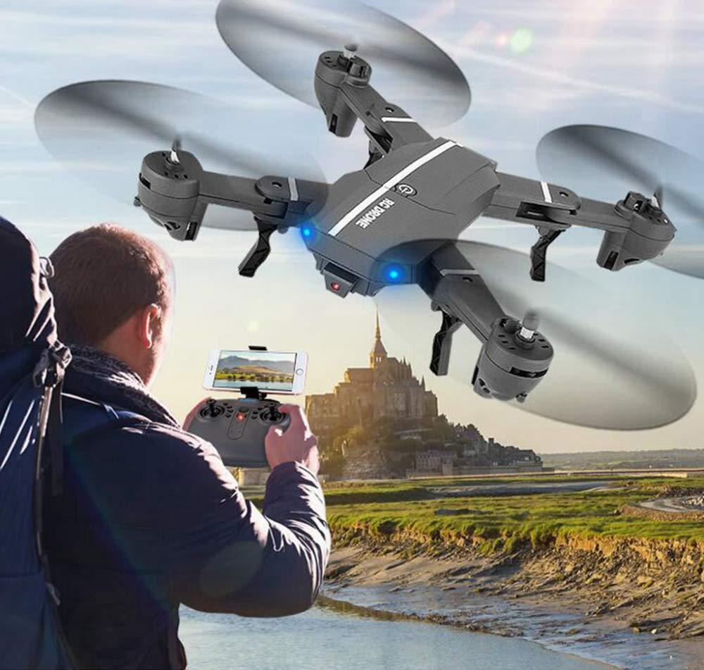 ERKEJI Drohne Schwerkraft Induktion Remote Kontrolle Faltbare Vier-Achs Flugzeug Spielzeug Flugzeug 720p Luftbild Echtzeitübertragung W IFi FPV